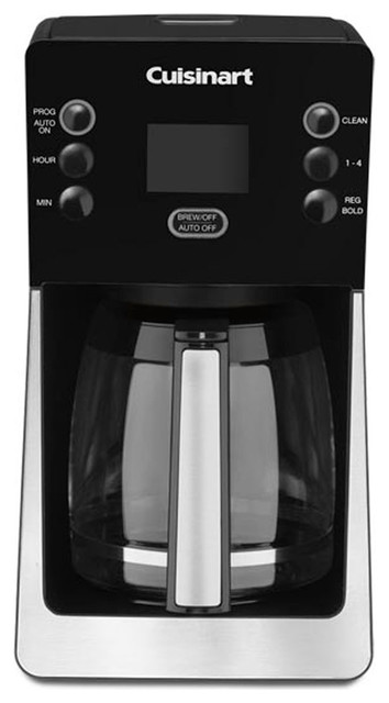 Modern Glass Coffee Maker : Perfectemp 14-Cup Programmable Coffeemaker With Glass Carafe, Black - Contemporary - Coffee ...