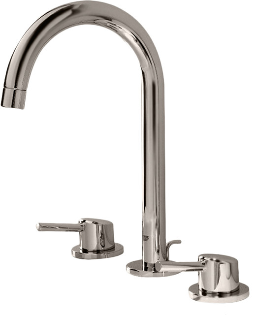 grohe 20217en1 polished nickel concetto two handle
