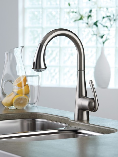 grohe kitchen faucet 32 298 ladylux3 modern kitchen faucets by