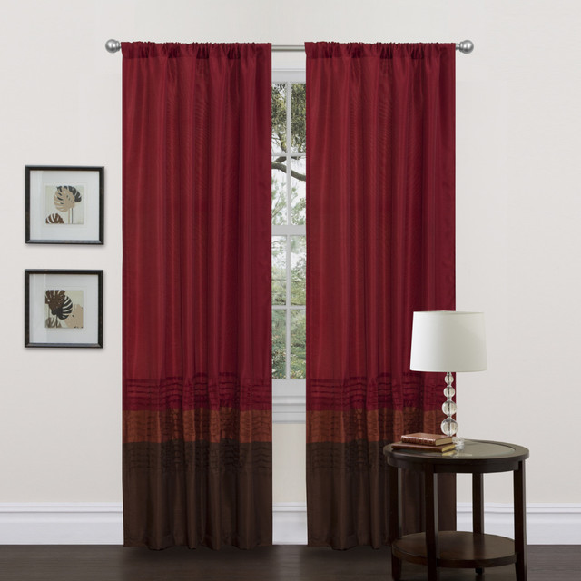 Red Brown Curtains - Best Curtains 2017