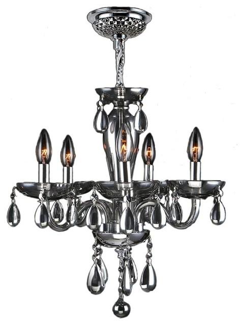 Worldwide Lighting Mini Chandelier Contemporary