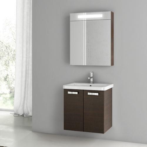 22 inch wenge bathroom vanity set contemporary