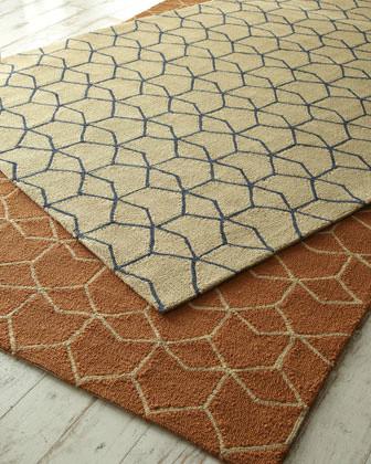 Hexagon Outdoor Rug modern outdoor rugs