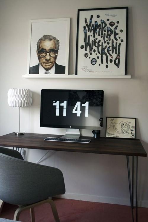 Aiuto per colore scrivania angolo studio