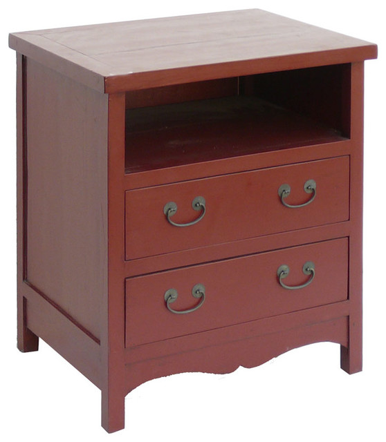 red two drawers tv entertainment stand cabinet rustic entertainment centers and tv stands. Black Bedroom Furniture Sets. Home Design Ideas