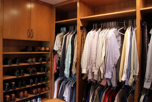 Encino His Closet Contemporary Los Angeles By