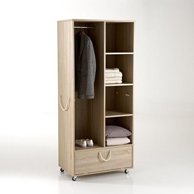 dressing sur roulettes ursul contemporain commode et chiffonnier par la redoute int rieurs. Black Bedroom Furniture Sets. Home Design Ideas