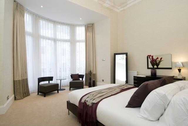 Interior design service for a bedroom sample 1 for Interior design services london