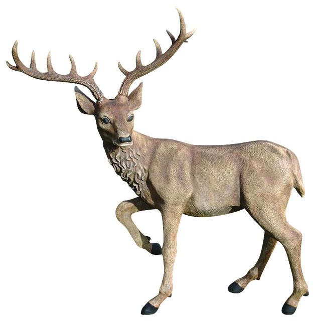Garden Decor Deer: Black Forest Garden Deer
