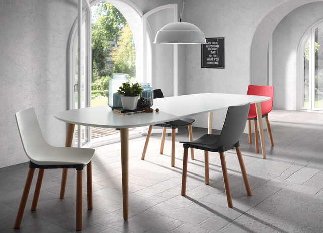Modern Dining Chairs Australia Of Oakland Table Lejeir Chair By Laforma Australia Modern