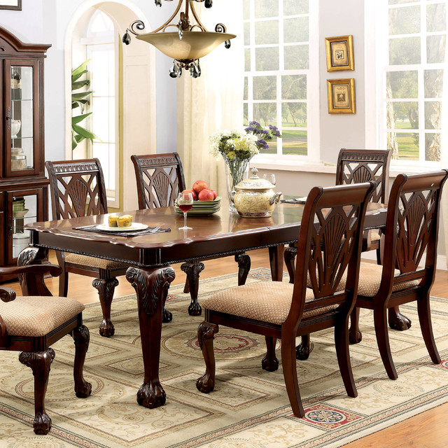 furniture of america ranfort formal 82 quot dining table