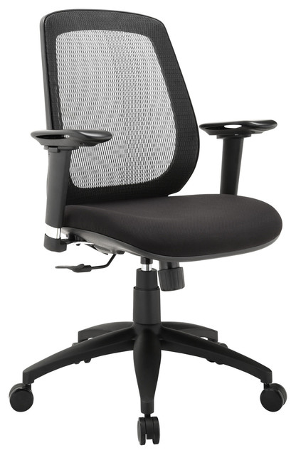 cruise premium office chair in black contemporary office chairs