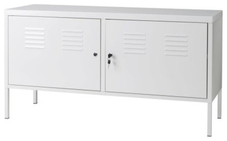 Ikea PS Cabinet, White - Contemporary - Accent Chests And ...