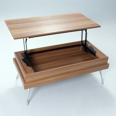 koryo coffee table with lift top modern coffee tables