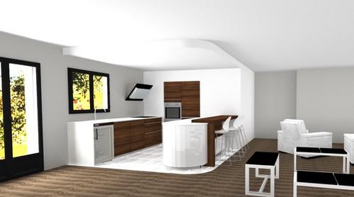 Quelle sol pour ma cuisine for Salon sejour cuisine 40m2