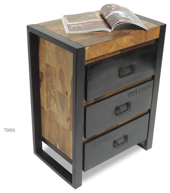 commode collection design industriel industriel. Black Bedroom Furniture Sets. Home Design Ideas