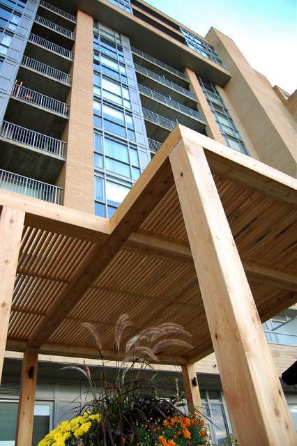 Bauer Lofts Toronto By Earthscape Landscape Design Build