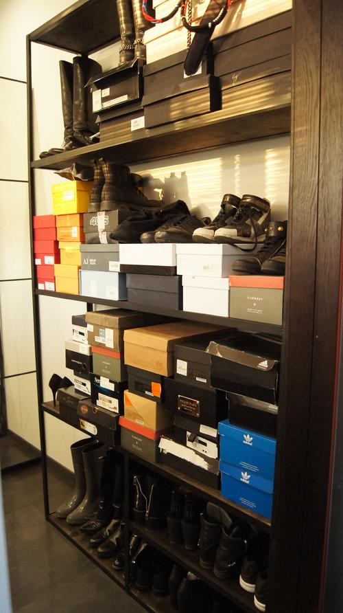 Стеллаж для обуви в гардеробную