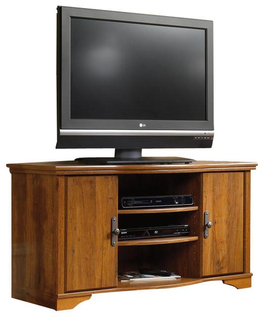Sauder harvest mill tv stand traditional tv stands units by cymax - Sauder harvest mill home theater ...