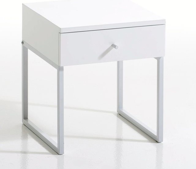 Chevet 1 tiroir newark contemporain table de chevet et table de nuit - Table de nuit la redoute ...