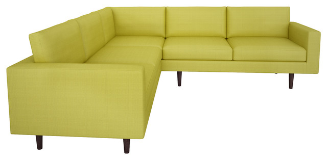 brady corner sectional klein wheatgrass 96 contemporary corner sofas los angeles by. Black Bedroom Furniture Sets. Home Design Ideas