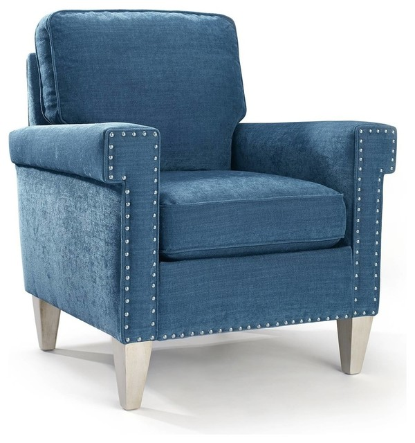 Fitch Chair Peacock Transitional Armchairs And Accent
