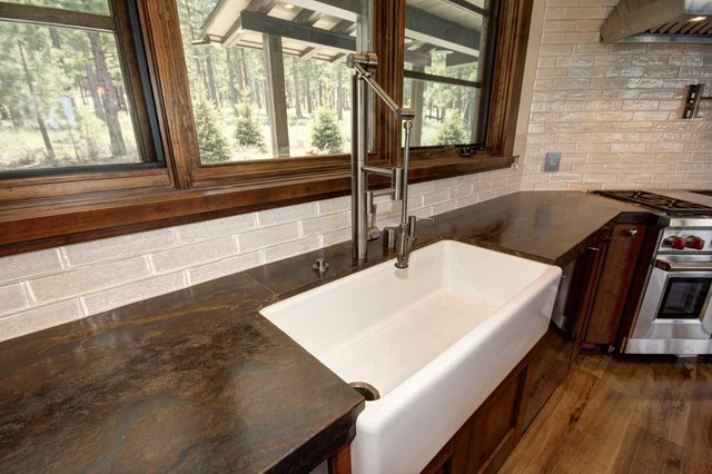 Trailside Builders Martis Camp Truckee California Rustic Sacramento By Kitchen Design Center