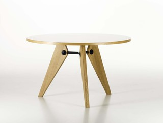 Jean prouve gueridon table vitra modern dining tables - Table basse jean prouve ...