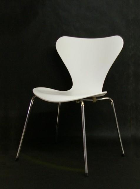 3107 series 7 stuhl von arne jacobsen f r fritz hansen bauhaus look esszimmerst hle von pamono. Black Bedroom Furniture Sets. Home Design Ideas