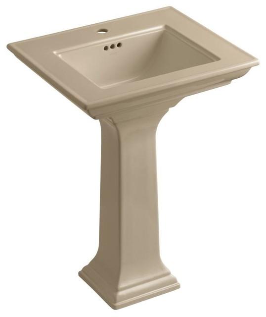 Kohler Memoirs Pedestal Sink : KOHLER Bathroom Memoirs Stately Pedestal Bathroom Sink Combo in ...