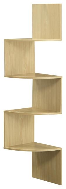Hanging Corner Storage Shelves Contemporary Display