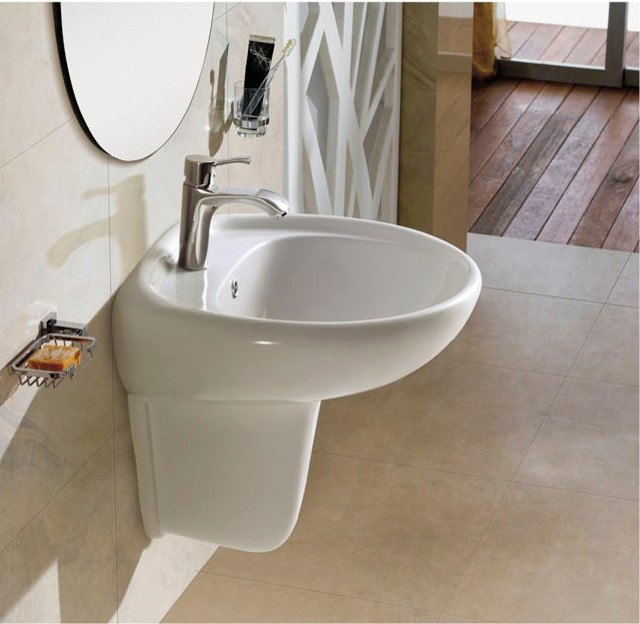 Modern Wall Mount Sink Hull New Bathroom Basins Dallas By The Interior Gallery