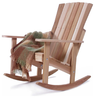 ... Rocker Chair - Rustic - Outdoor Rocking Chairs - by UnbeatableSale Inc