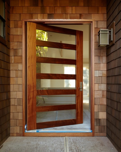 Sydney Pivot-hung Entry Door - Modern - Front Doors - denver - by Pivot Door Company