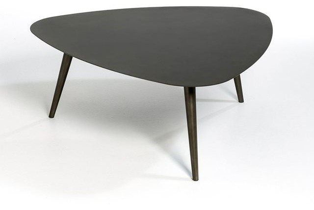Table basse petite taille th oleine contemporain table basse de jardin - Table de jardin contemporaine ...