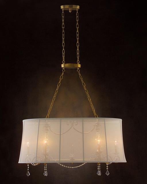 john richard 6 light chandelier ajc 8687 modern. Black Bedroom Furniture Sets. Home Design Ideas