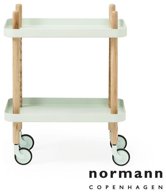 Normann copenhagen block table mint modern side tables end tables los angeles by - Normann copenhagen block table ...