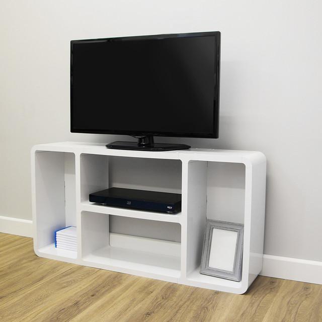 Modern Media Unit: Media Unit Style 3 - Modern - TV Stands & Units