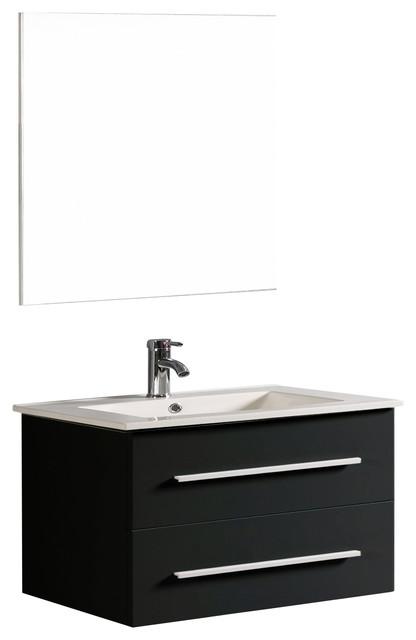 32 Rachel Contemporary Single Vanity Contemporary Bathroom Vanities