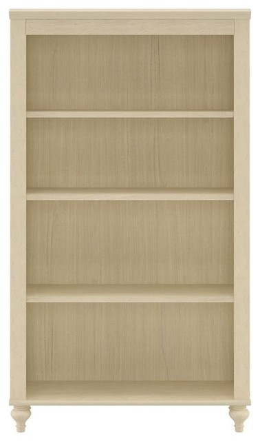 Volcano Dusk 4-Shelf Bookcase (Driftwood Dream White) - Traditional - Bookcases - by ShopLadder