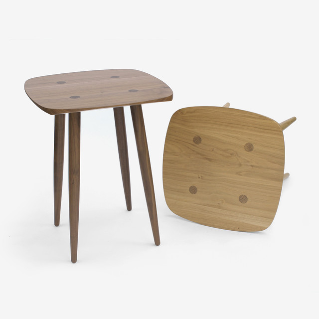 James UK Holton Oak Side Table Contemporary Side Tables End Tables