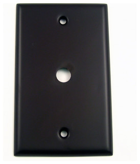 single cable switch plate oil rubbed bronze contemporary switch plates and outlet covers. Black Bedroom Furniture Sets. Home Design Ideas