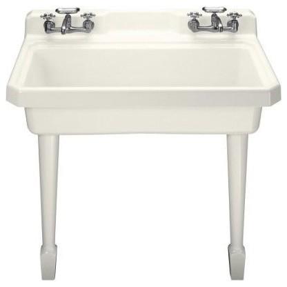 ... Harborview Utility Single Basin Kitchen Sink traditional-kitchen-sinks