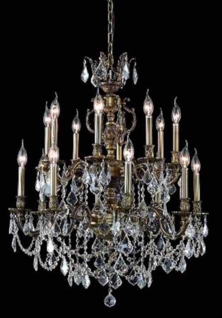 elegant lighting 9516d28ab rc chandelier from the marseille collection contemporary. Black Bedroom Furniture Sets. Home Design Ideas