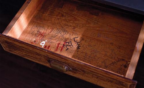 Office Vintage School Desk