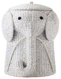 Elephant Laundry Hamper Tropical Hampers By Luxe