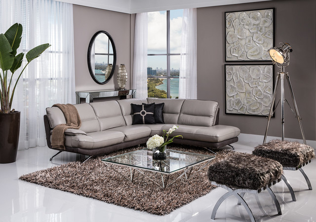 nicole corner sofa modern living room miami by el
