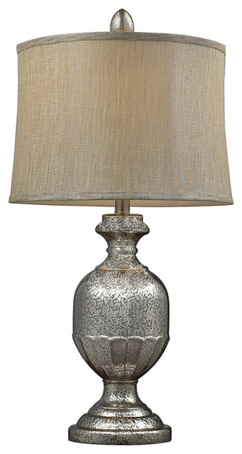 light antique mercury glass table lamp traditional table lamps. Black Bedroom Furniture Sets. Home Design Ideas