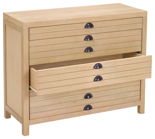 Lazy Susan 8 Drawer Flat File Cabinet - Traditional - Accent Chests And Cabinets - by HomeThangs