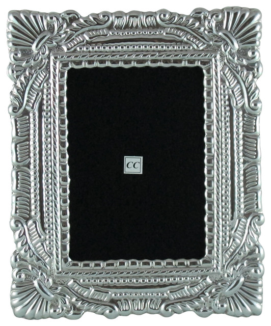 sterling silver 4x6 picture frame qosqo traditional picture frames by sofia 39 s findings. Black Bedroom Furniture Sets. Home Design Ideas